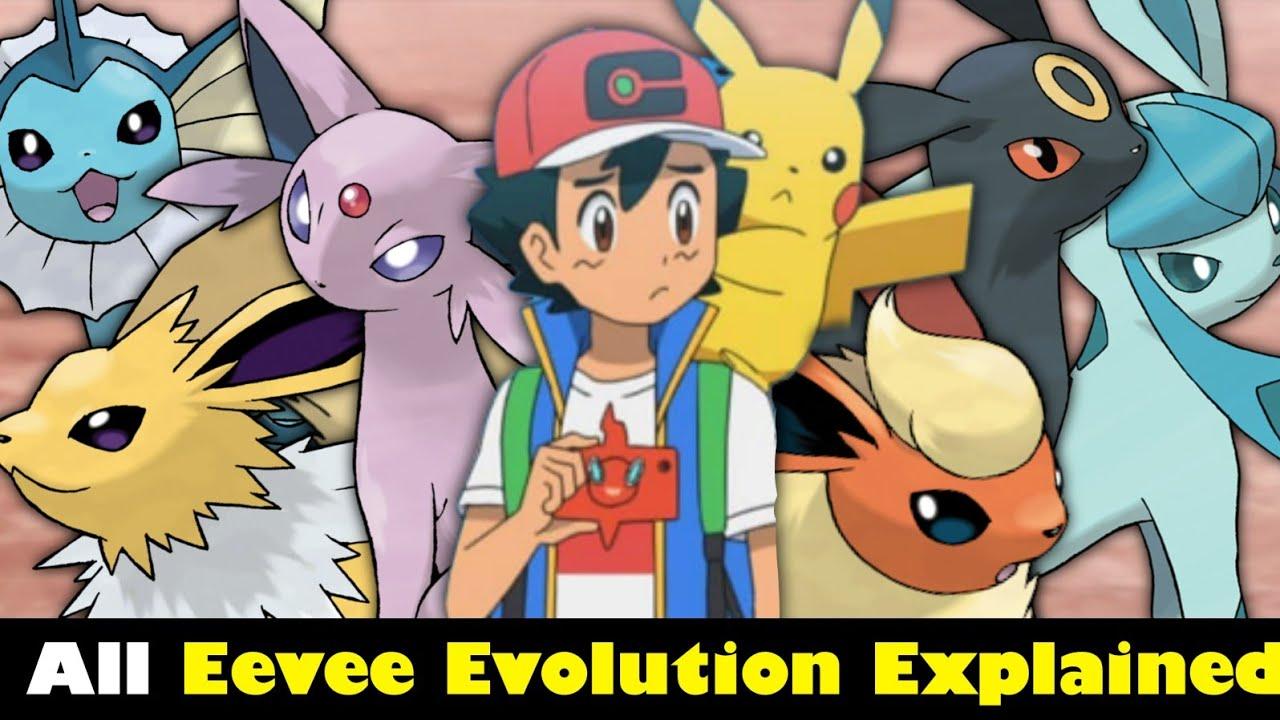 All Evee Evolution Explained in hindi || Evee ke kitne evolution he | Pokemon in hindi