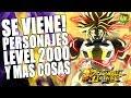 PERSONAJES A LEVEL 2000 Y 2 NUEVOS LOGIN BONUS FIN DEL MEME Dragon Ball Legends En Español mp3