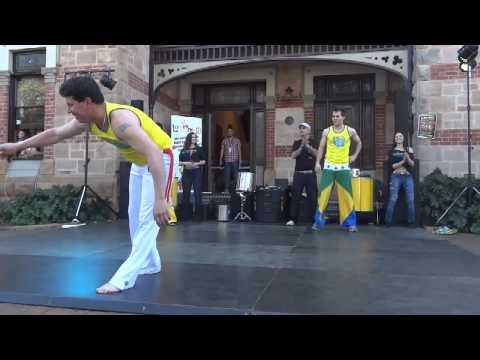 Brazilian Dance Academy Show Capoeira at Barrio Beats Latin Festival 2012