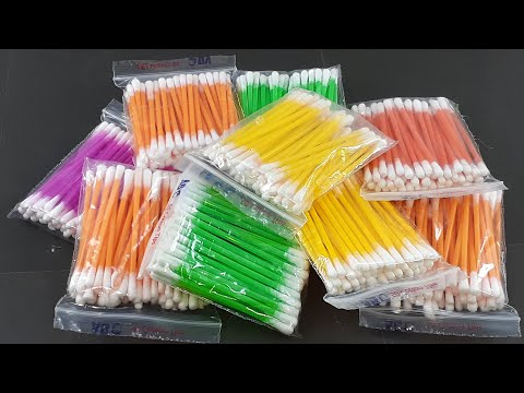 COTTON BUDS CRAFTING 2020   AMAZING WALL DECORATING IDEA   DIY ARTS AND CRAFTS