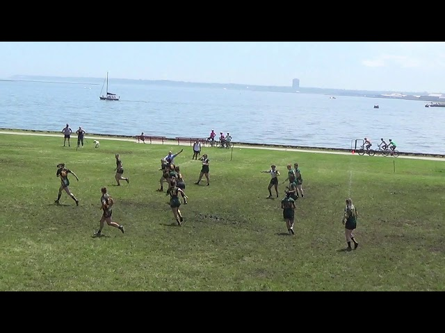 Womens Open Cup Semi North Shore Green 19 v 0 North Shore Gold #Lakefront7s2019