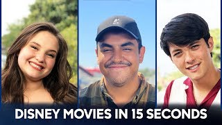 CHALLENGE! Explain A Disney Movies in 15 Seconds - Top 10 - American Idol 2019 on ABC