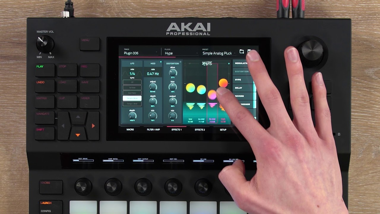 That thing you saw — it's called the Akai Force | DJWORX