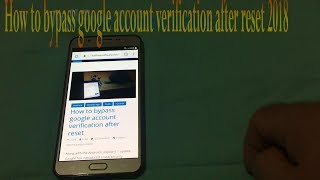 how to bypass Google account remove FRP lock RCA Voyager