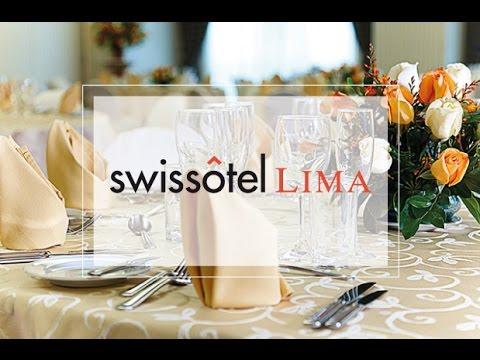 CANAL BODAS: Swissotel Lima, Recepción y Noche de Bodas
