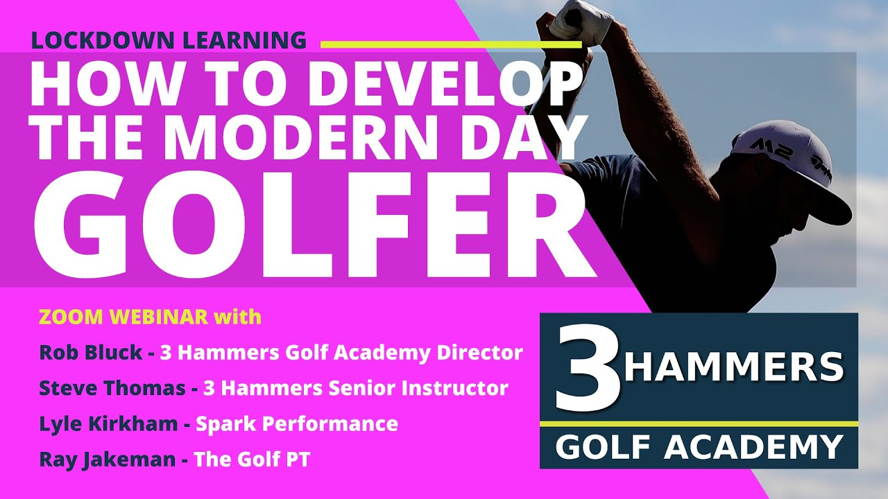 How To Develop The Modern Day Golfer Webinar