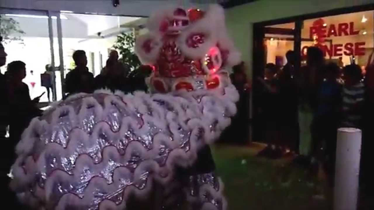 Perth Lion Dance at Pearl River Chinese Restaurant 2014