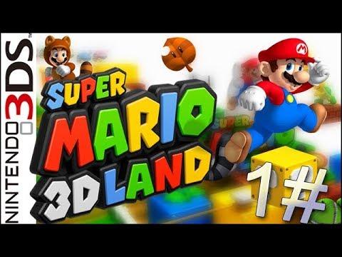 Super Mario 3D Land - Guia Parte 1 - Mundo 1 (Nintendo 3DS Gameplay)