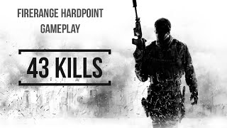 """43 kills"" firerange hardpoint gameplay