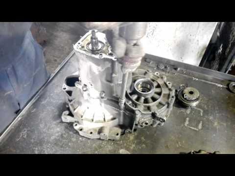 ремонт Volkswagen Golf 4, замена пятой передачи, замена подшипников