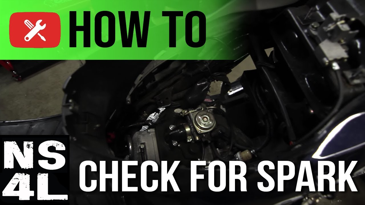 How to Check for Spark on Your Scooter | Scooter Startup Troubleshooting