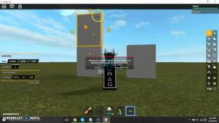 How to make a Transparent wall w/ f3x tools | ROBLOX