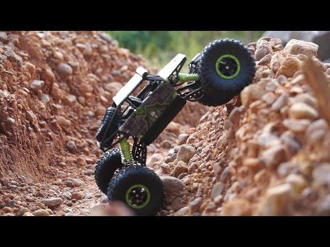 A Cheap Rock Crawler with Serious Rock Crawling Performance