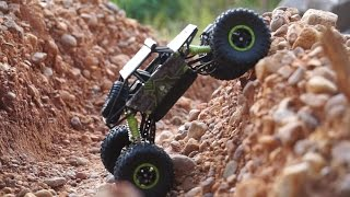 A Cheap Rock Crawler with Serious Rock Crawling Performance