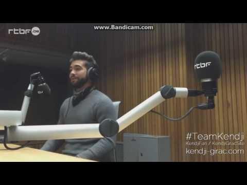 Kendji Girac interview 30.01.2016 radio vivacité Belgique