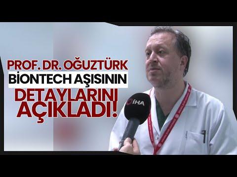 Prof. Dr. Oğuztürk Biontech Aşısının Detaylarını Anlattı