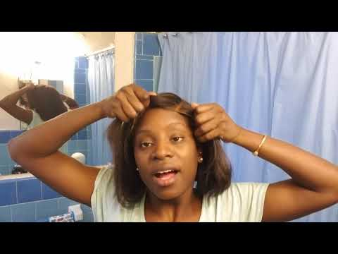 HOW TO: Fix And Old /ugly WIG With A Relaxer
