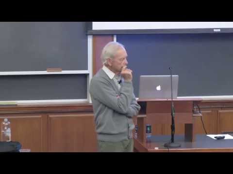 Allan Savory Presenting at Harvard Law School
