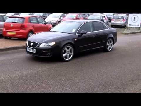 seat exeo diesel saloon 2009 2 0 tdi cr sport 4dr 170 kn59xze youtube. Black Bedroom Furniture Sets. Home Design Ideas