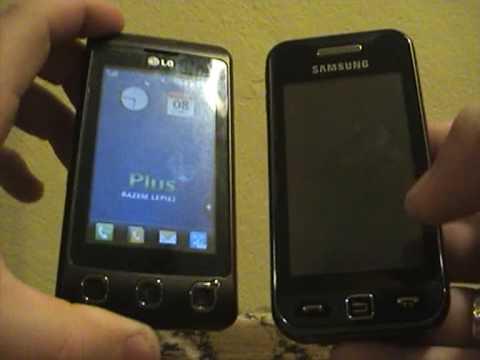 LG KP500 Cookie vs Samsung S5230 Avila - odcinek 1