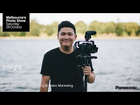 Dave Katague: Exploring Event Filmmaking & Video Marketing