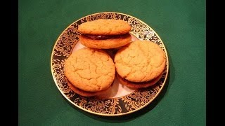 Peanut Butter Chocolate Sandwich Cookies By Diane Love To Bake