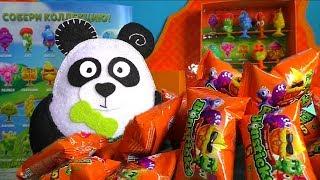 Фото Бонстики 5 распаковка с пандой