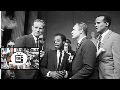 When Heston, Brando, Baldwin, Belafonte and Piotier Sat Down to Talk Civil Rights