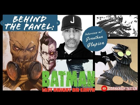 Chatting with Jonathan Glapion! (Inker & Artist of Batman: Last Knight On Earth + SO MUCH MORE!)