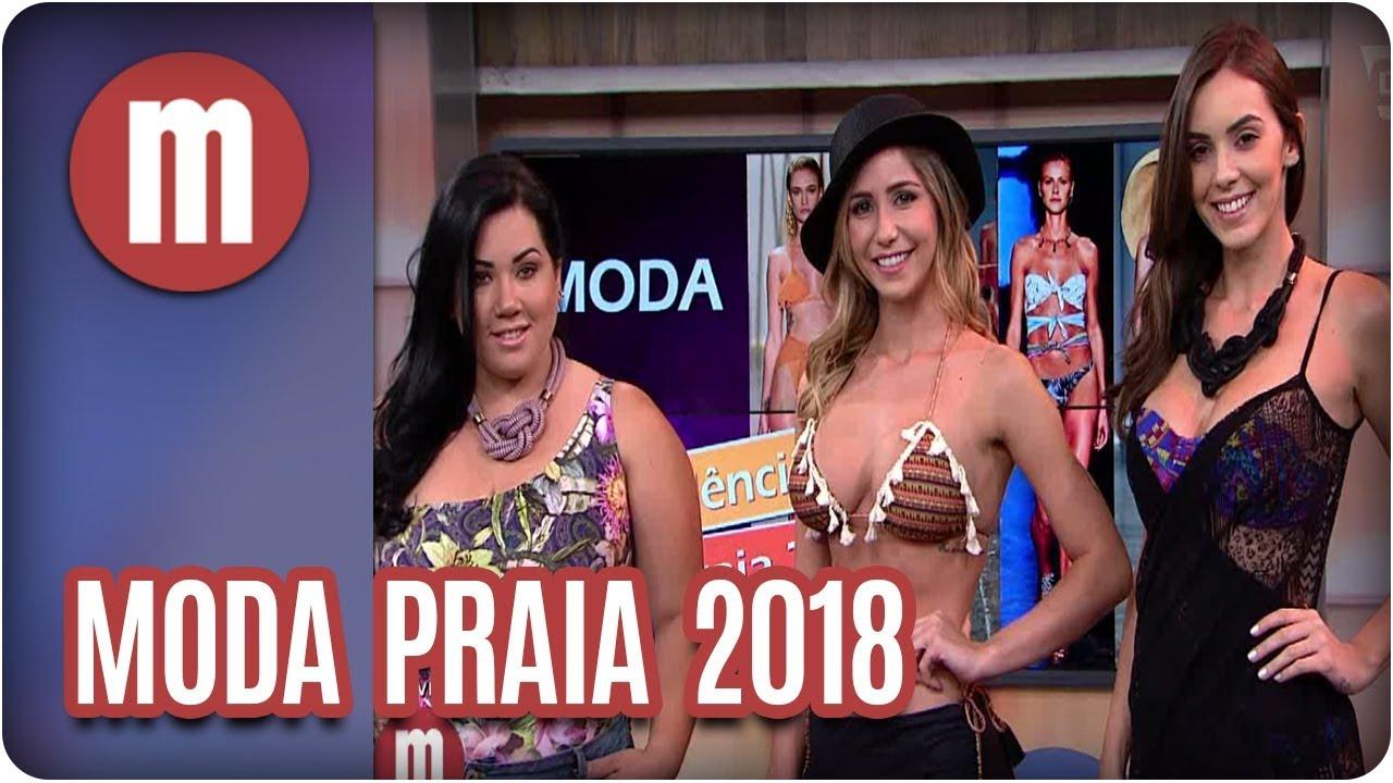 Moda praia para verão de 2018 - Mulheres (25 10 17) - YouTube a4dba7ad123