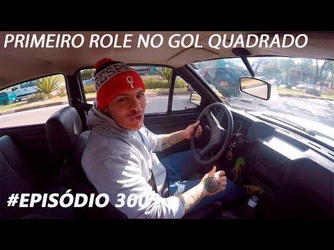 #episódio 300 (PRIMEIRO ROLE NO GOL QUADRADO) (especial 300 videos no canal)