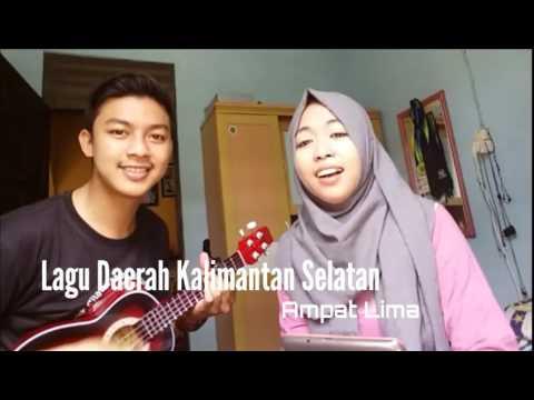 (Versi Ukulele) Lagu daerah Kalimantan Selatan - Ampat Lima (by Muhajir & Malehah)