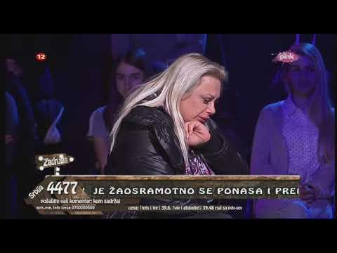 Zadruga 2 - Marija Kulić plače u studiju nakon što je napustila Zadrugu 2 - 06.12.2018.