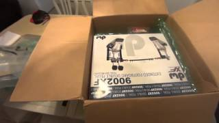 dw9002xf double bass drum pedal unboxing