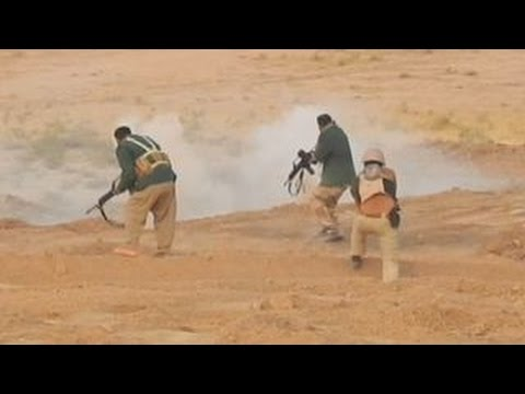 Exclusive: Peshmerga soldiers