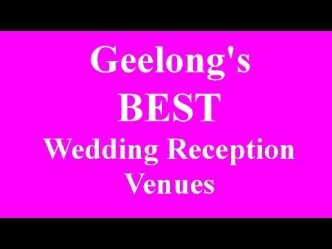 Geelong Wedding Reception Venues & Function Rooms