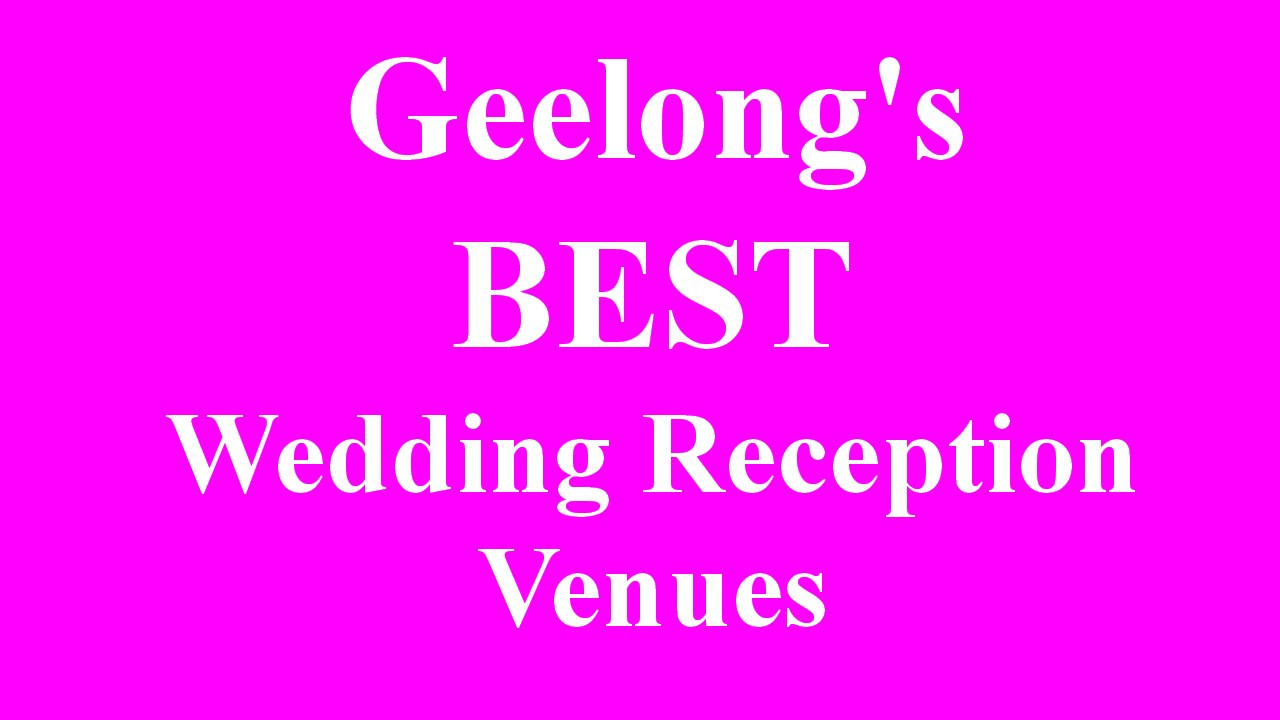 Geelong Wedding Reception Venues Function Rooms