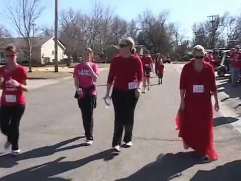 1st Annual Red Dress Run 2/26/2012