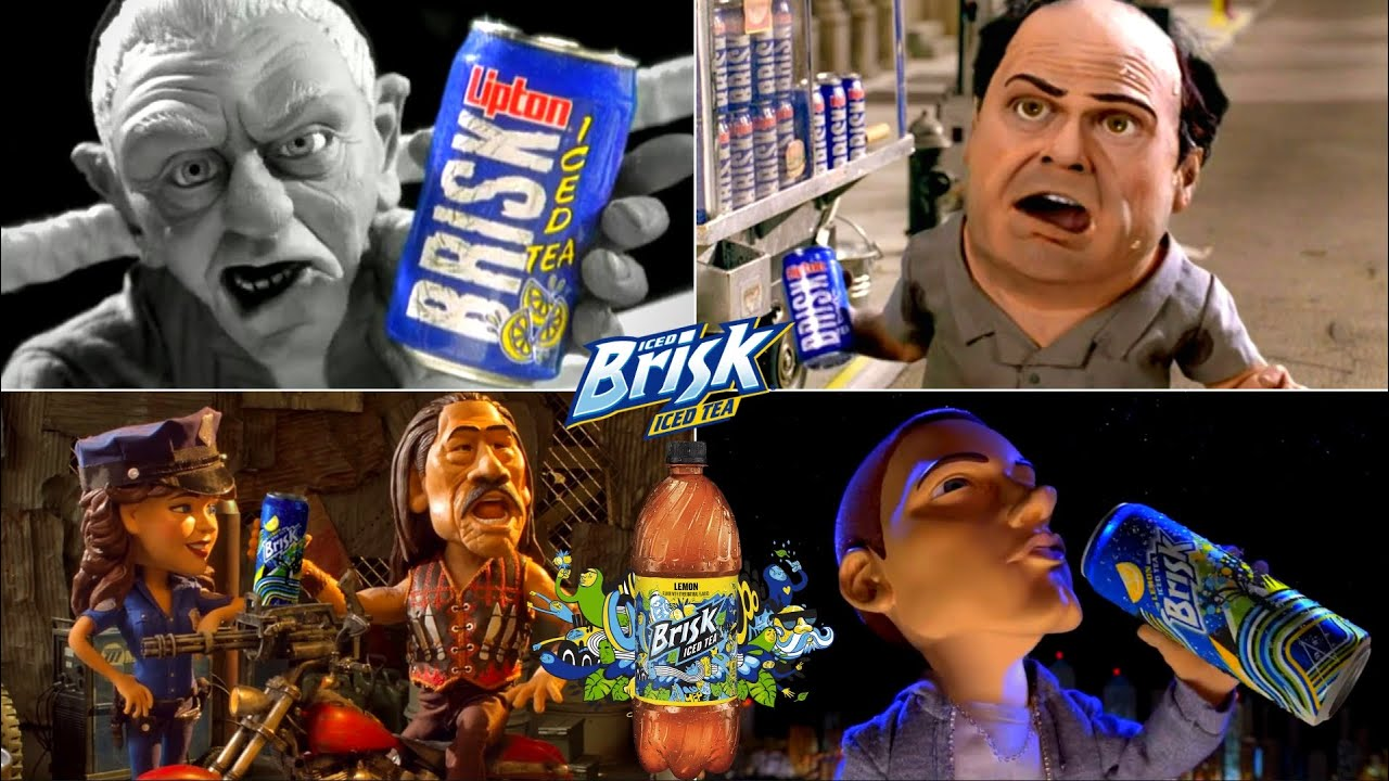 That's Brisk Baby! Funny Lipton Iced Tea Commercials EVER!