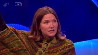 *VERY STRONG LANGUAGE* Jessica Hynes Drops the C-Bomb - The Last Leg