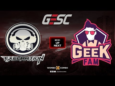 Execration Vs GeekFam Game 1 L GESC: Thailand SEA Qualifiers