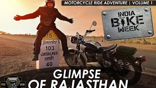 Glimpse of Rajasthan | Royal Motorcycle Diaries | volume 1