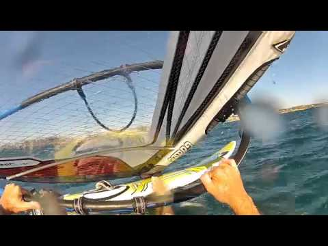 Windsurfing Crash