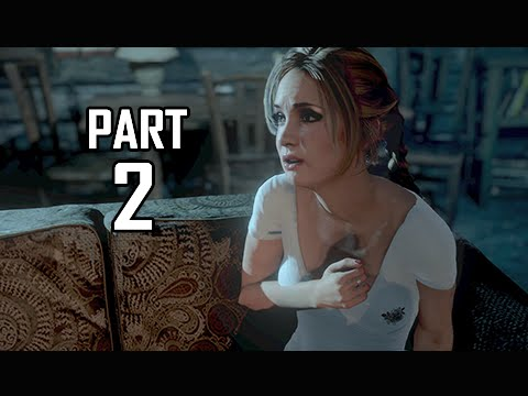 Until Dawn Walkthrough Part 2 - Fires of Love (PS4 Let's Pla