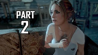Until Dawn Walkthrough Part 2 - Fires of Love (PS4 Let