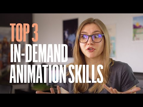 Top 3 most wanted animation skills that motion design studios are looking and hiring for