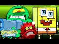 SpongeBob the Anti-Virus! | Karen's Virus 🦠 | SpongeBob