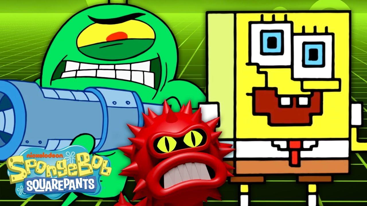 Download SpongeBob the Anti-Virus!   Karen's Virus 🦠   SpongeBob