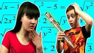 Дети в ШОКЕ  волшебная ручка сама делает уроки.