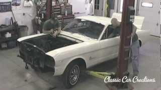 1965 Ford Mustang Restoration - teardown